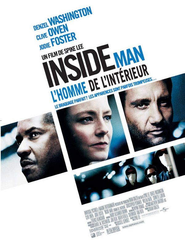 Inside Man - l'homme de l'int�rieur en streaming
